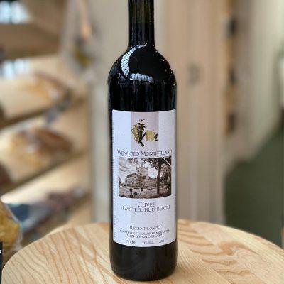 cuvee rode wijn wijngoed Montferland
