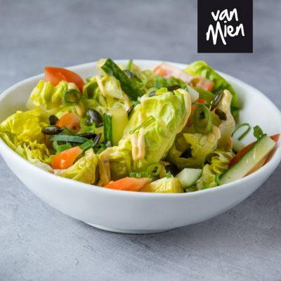 groene salade van van Mien